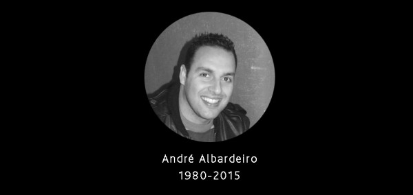 """ A vida é demasiado boa para se desistir"" – André Albardeiro (1980-2015) A última entrevista"