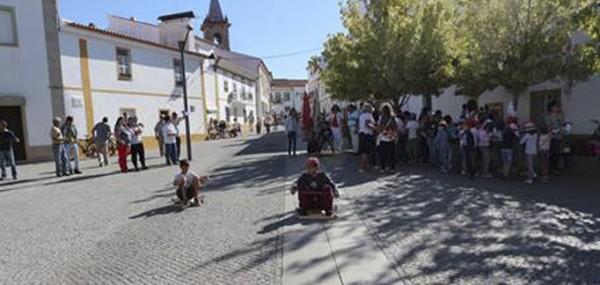 Dia Europeu sem carros em Fronteira