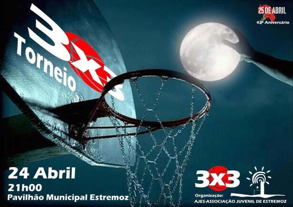 AJES promove torneio de basquetebol 3X3