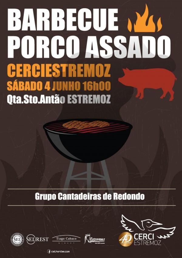CERCI de Estremoz organiza barbecue de porco assado