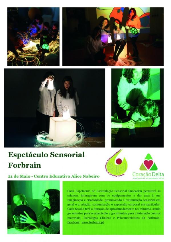 Espetáculo Sensorial Forbrain no CEAN
